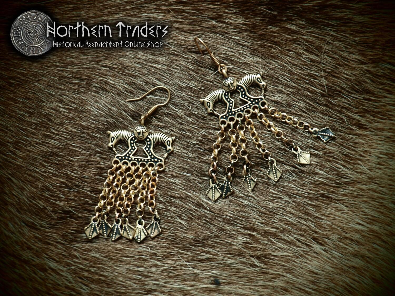 Earrings from Staraya Ladoga