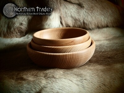 Medieval Wooden Bowl - Various sizes