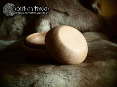 Medieval Wooden Bowl - 18 cm