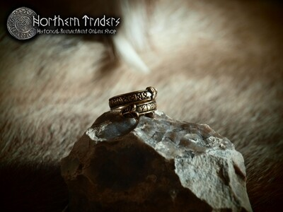 Runic Wolf Ring