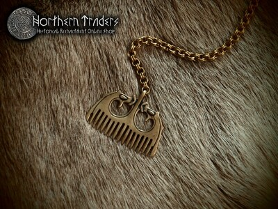 Viking Comb Pendant