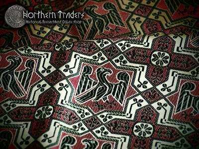 Silk Brocade of Sant Joan de les Abadesses Abbey