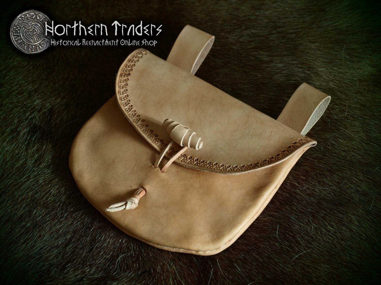 Viking Inspired Leather Bag