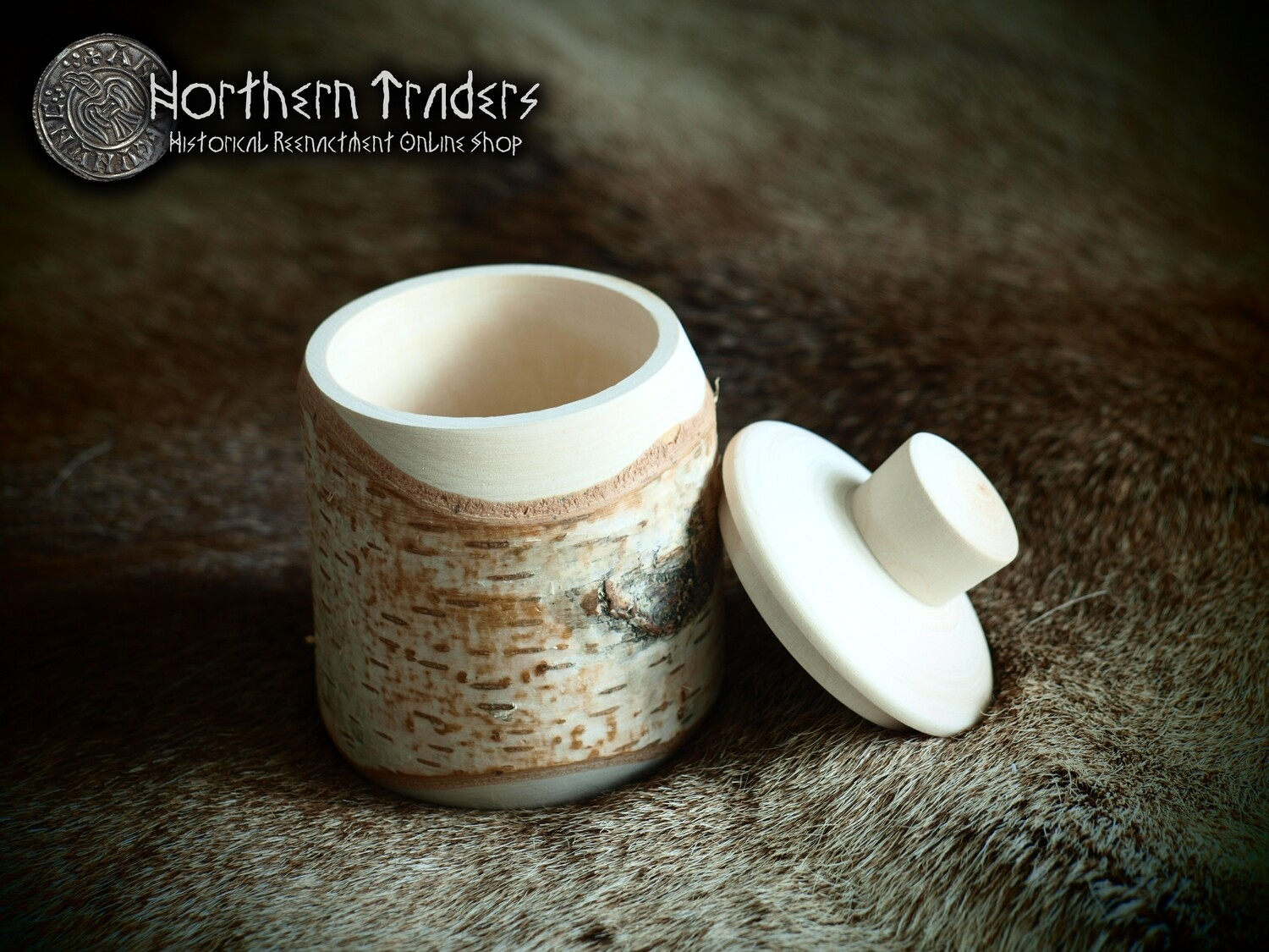 Birch Wood Container