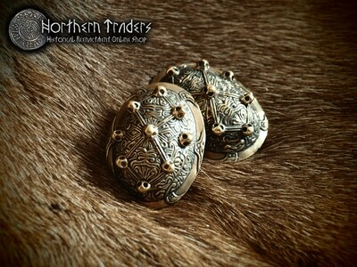 Viking Turtle Brooches