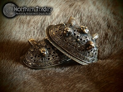 Viking Turtle Brooches from Birka