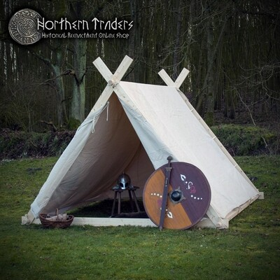 Small Viking Tent, 2.0 x 2.3 x 1.8 m - Cotton 350 gms