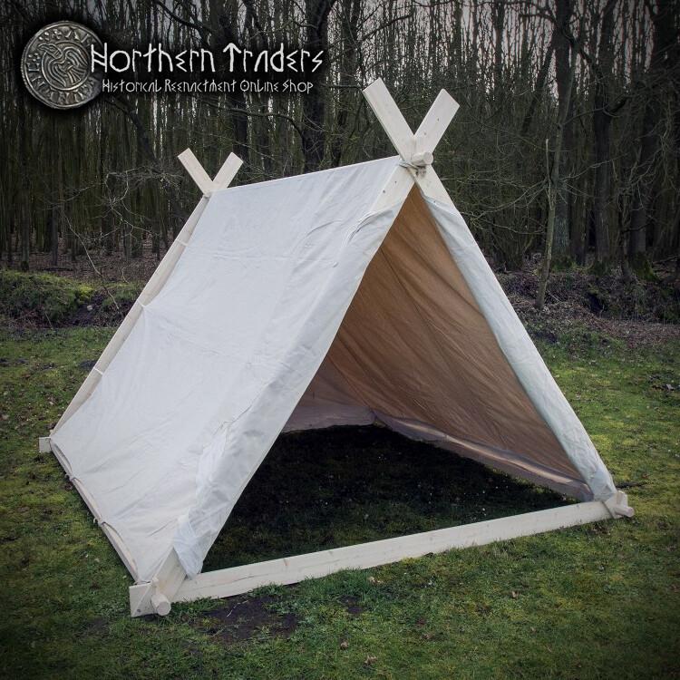 Big Viking Tent, 3.0 x 2.7 x 2 m - Cotton, 350 gms