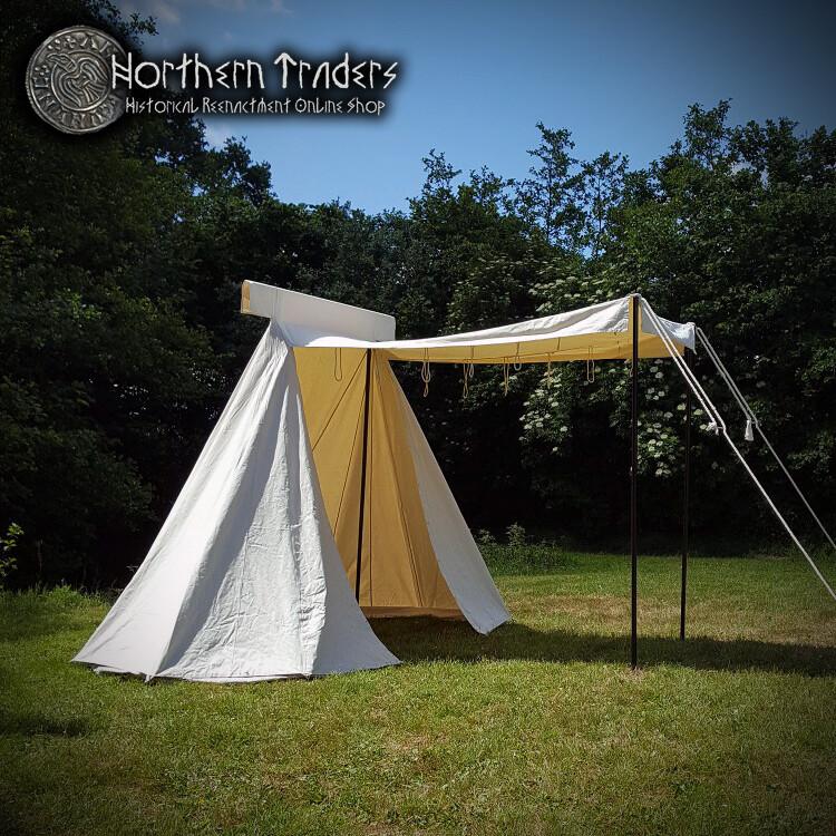 Saxon Trade Tent, 4 x 2.5 m - Cotton 425 gms