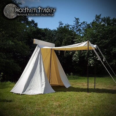 Saxon Trade Tent, 4 x 2.5 m - Cotton 425 gms