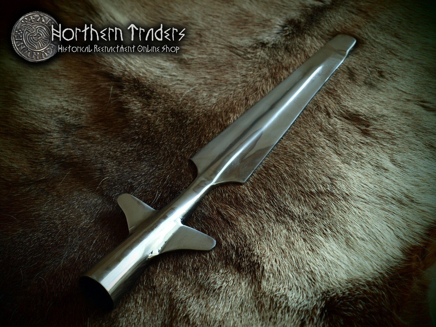 Viking Winged Spear for Combat