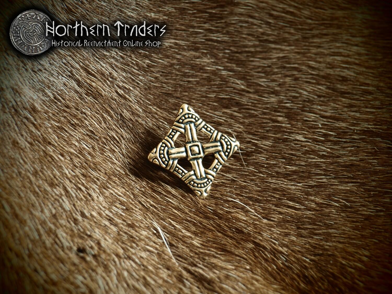Diamond-Shaped Brooch from Uppåkra