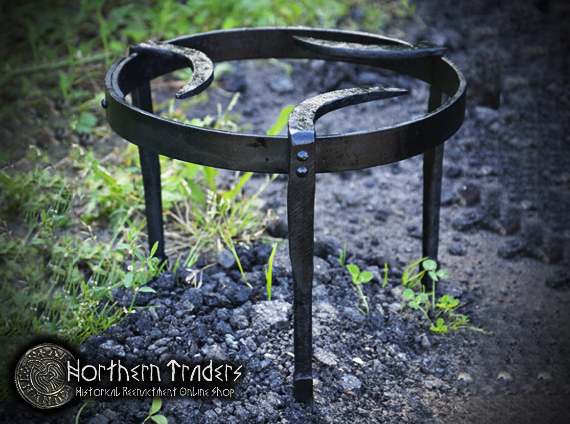 Forged Medieval Cooking Trivet