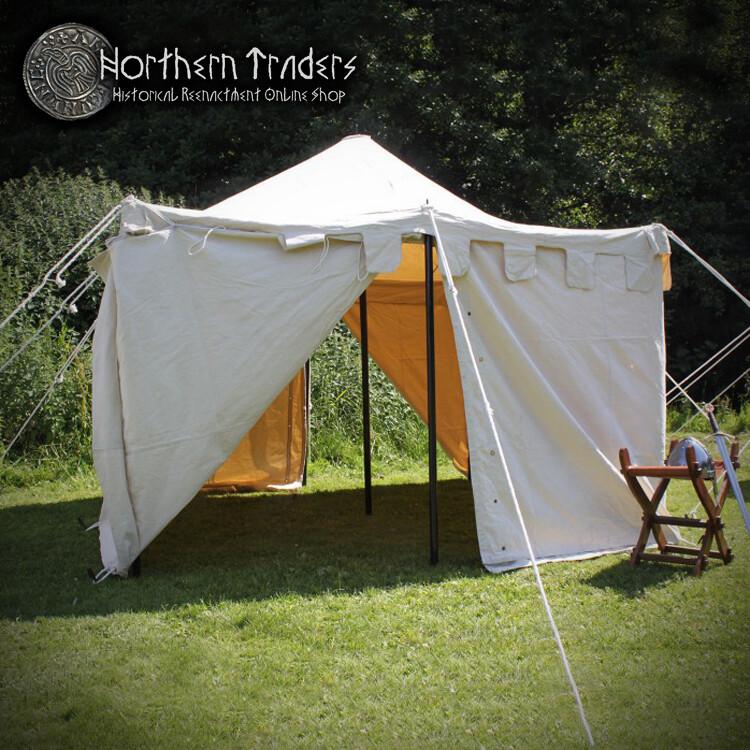 Square Tent 3 x 3 m - Cotton 350 gsm