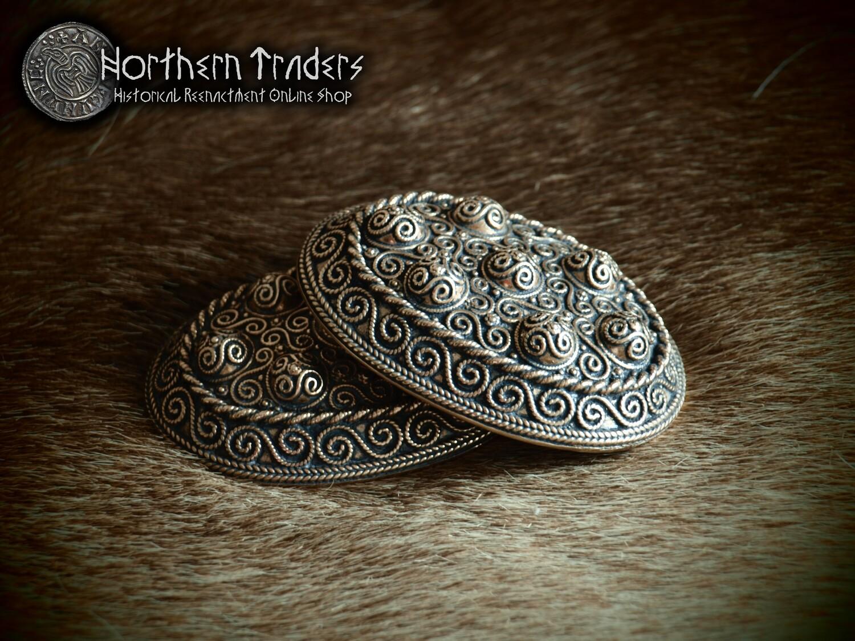 Viking Turtle Brooches from Haithabu