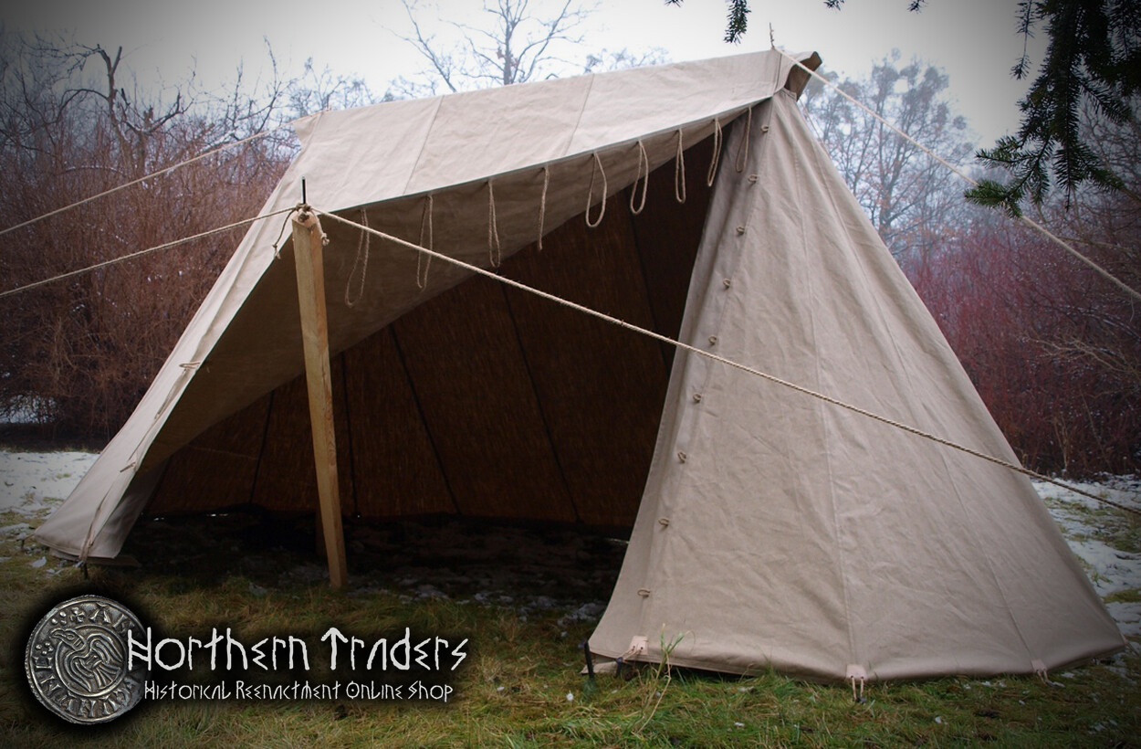 Norman / Saxon Tent – 2 x 4 – Linen