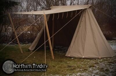 Norman / Saxon Tent – 2,5×5 – Linen