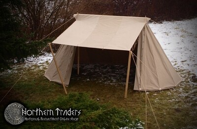 Norman / Saxon Tent – 3 x 6 – Linen