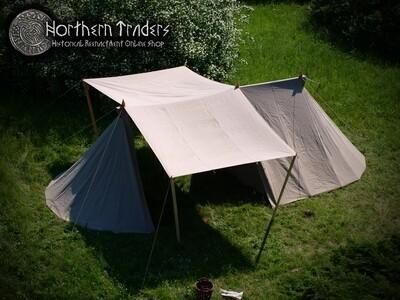 Norman / Saxon Tent - Merchant – 4 x 9 – Linen