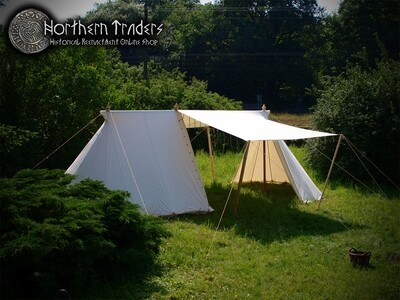 Norman / Saxon Tent - Merchant – 4 x 9 – Cotton
