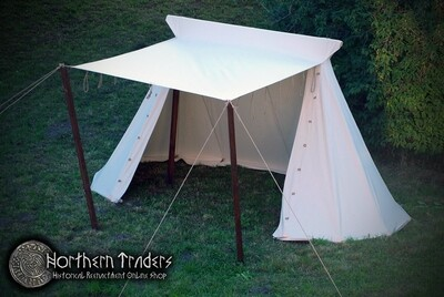 Norman / Saxon Tent – 2 x 4 – Cotton