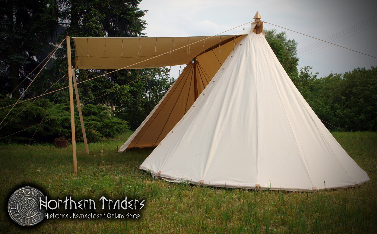 Norman / Saxon Tent – 3 x 6 – Cotton