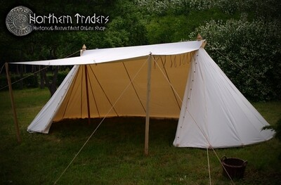 Norman / Saxon Tent – 4 x 8 – Cotton