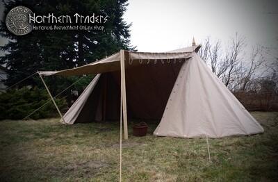 Norman / Saxon Tent – 4 x 8 – Linen