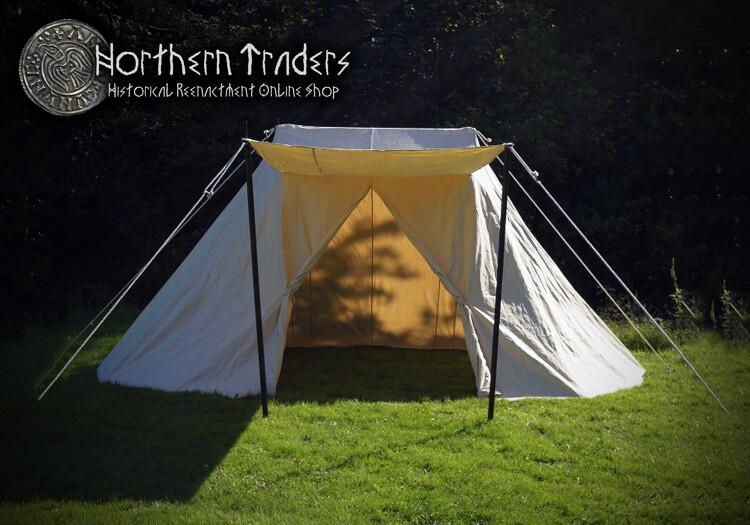 Saxon Tent, Natural Color - Different Sizes