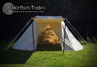 Saxon Tent, Natural Color - Different Sizes