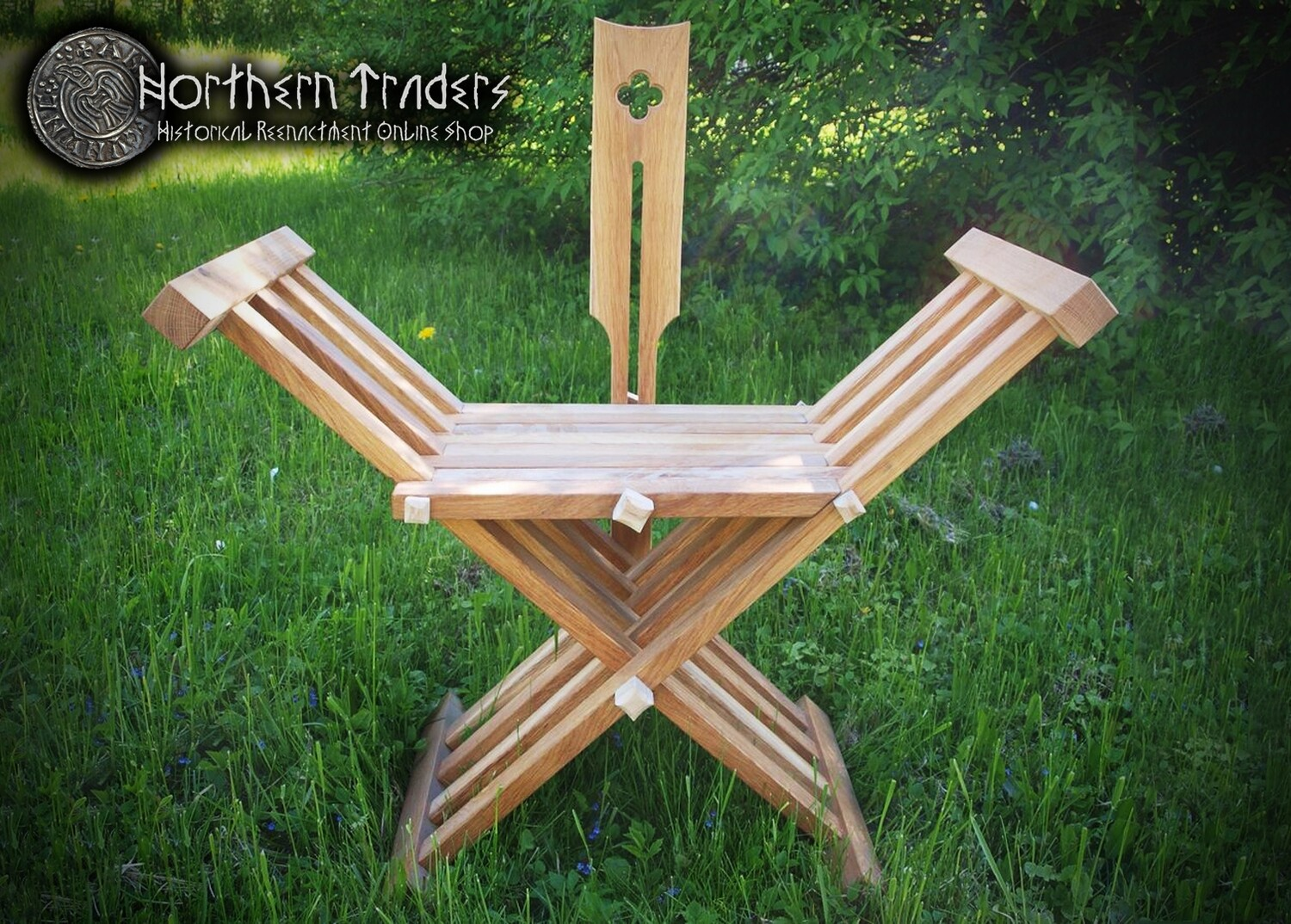 Folding Chair with Backrest