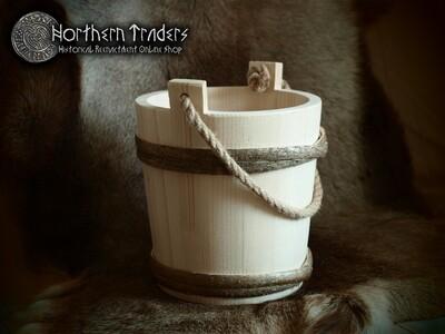 Wooden Bucket - 7 liters