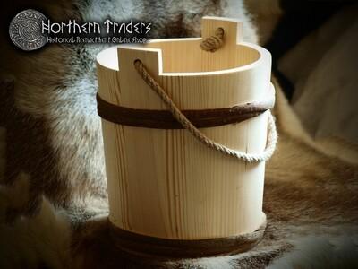 Wooden Bucket - 12 liters