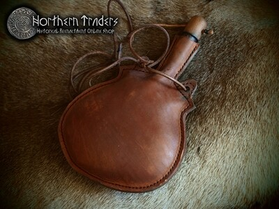 Leather Canteen - 1 liter