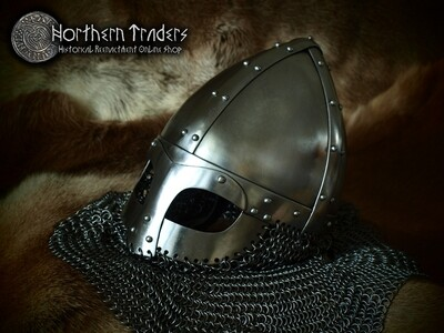 Spangenhelm with Occularia and Chainmail