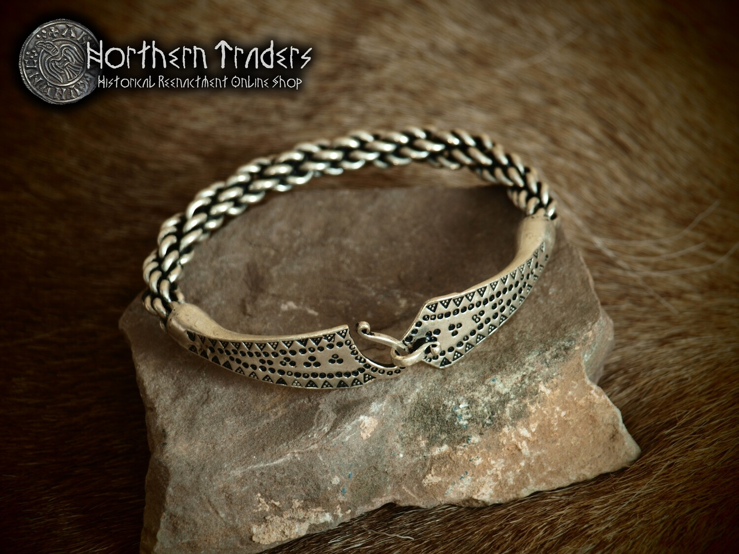 Viking Bracelet from the Hoard of Vulum - Medium