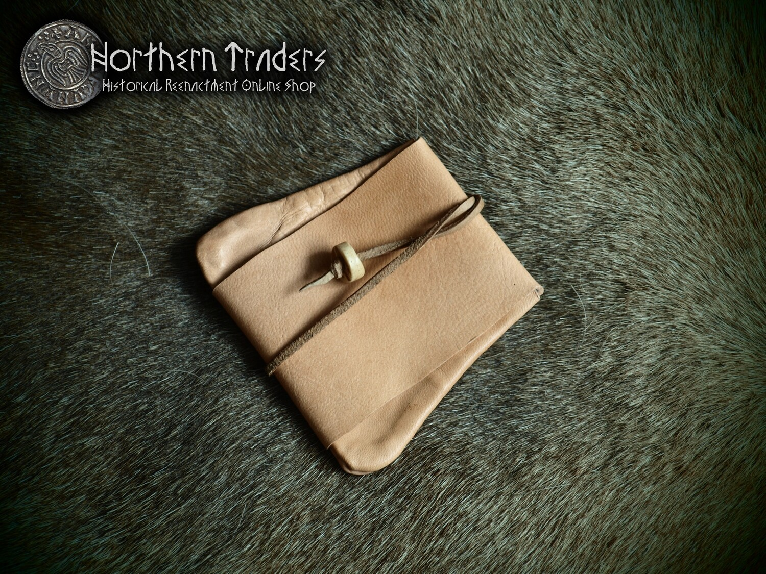 Viking Leather Coin Purse from Eide