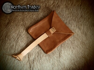 Viking Leather Coin Purse from Elisenhof