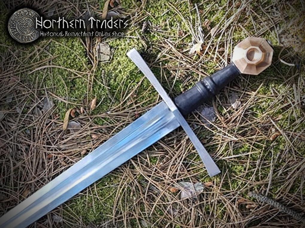 Medieval Petersen Type XII Sword with Hexagonal Pommel
