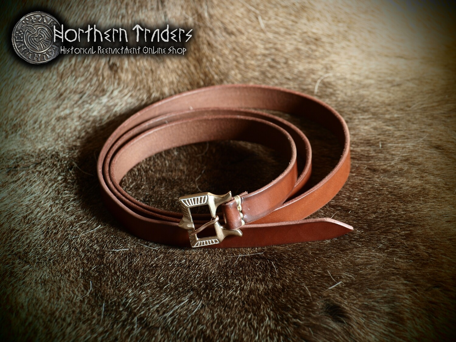 Viking Belt with Rus Buckle