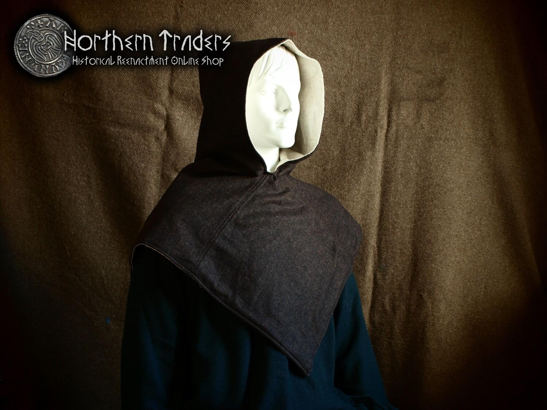 Skjoldehamn Hood - Wool & Linen