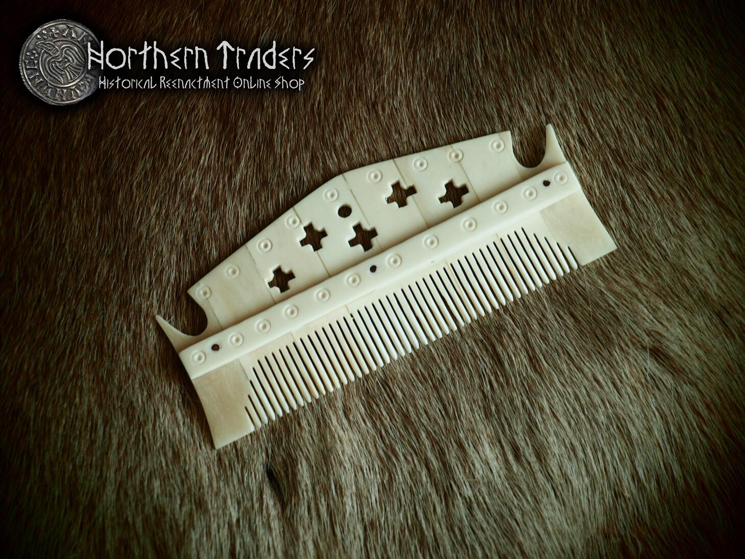 Decorated Viking Comb