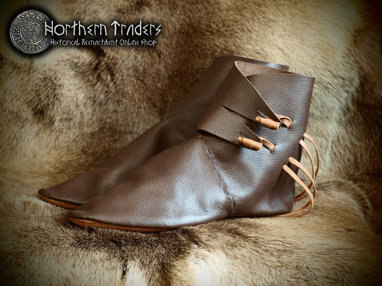 """Boots from Wijk bij Duurstede, """"Jorvik"""" Style (Reconstruction)"""