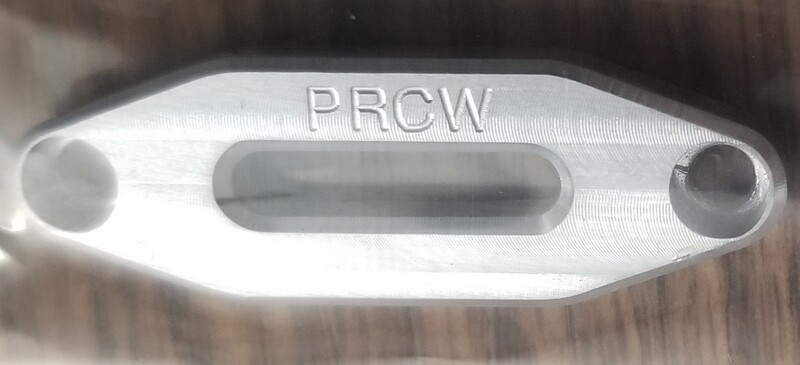 Aluminum machined fairlead