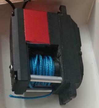 Wild Boar 350oz servo winch with built in-line controller - internal spool