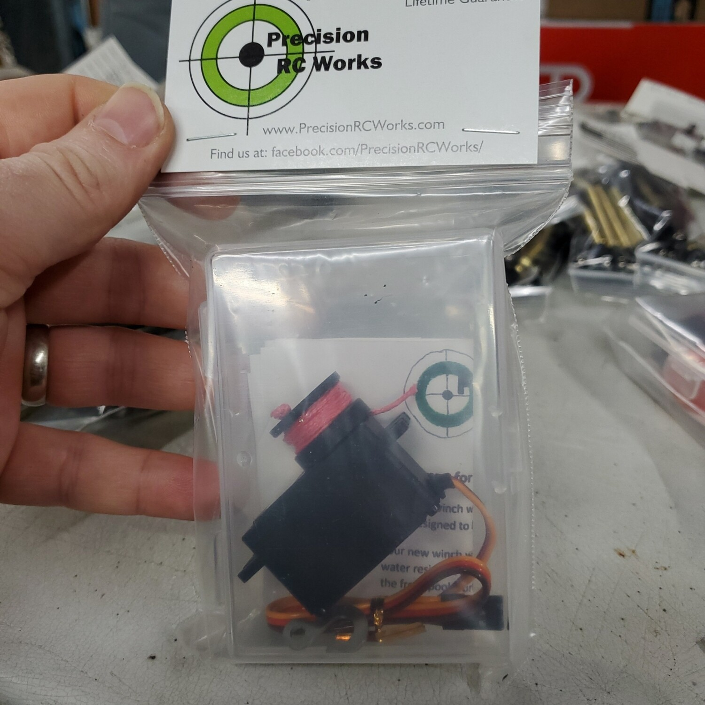 Little Piggy servo winch with built in controller - external