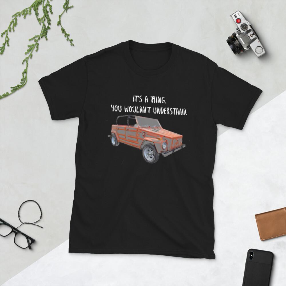 Thing - Short-Sleeve Unisex T-Shirt