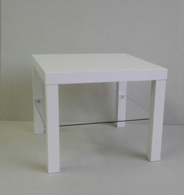 Tavolino con cristallo di sicurezza