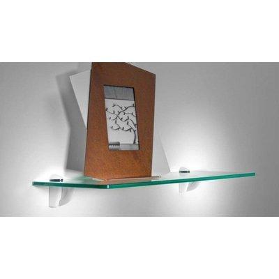 Mensola trasparente 30 x 20 cm.
