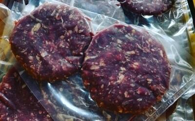 2 hamburger pure boeuf black angus